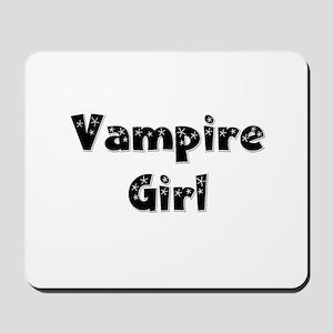 Twilight ~ Vampire Girl [BLK] Mousepad